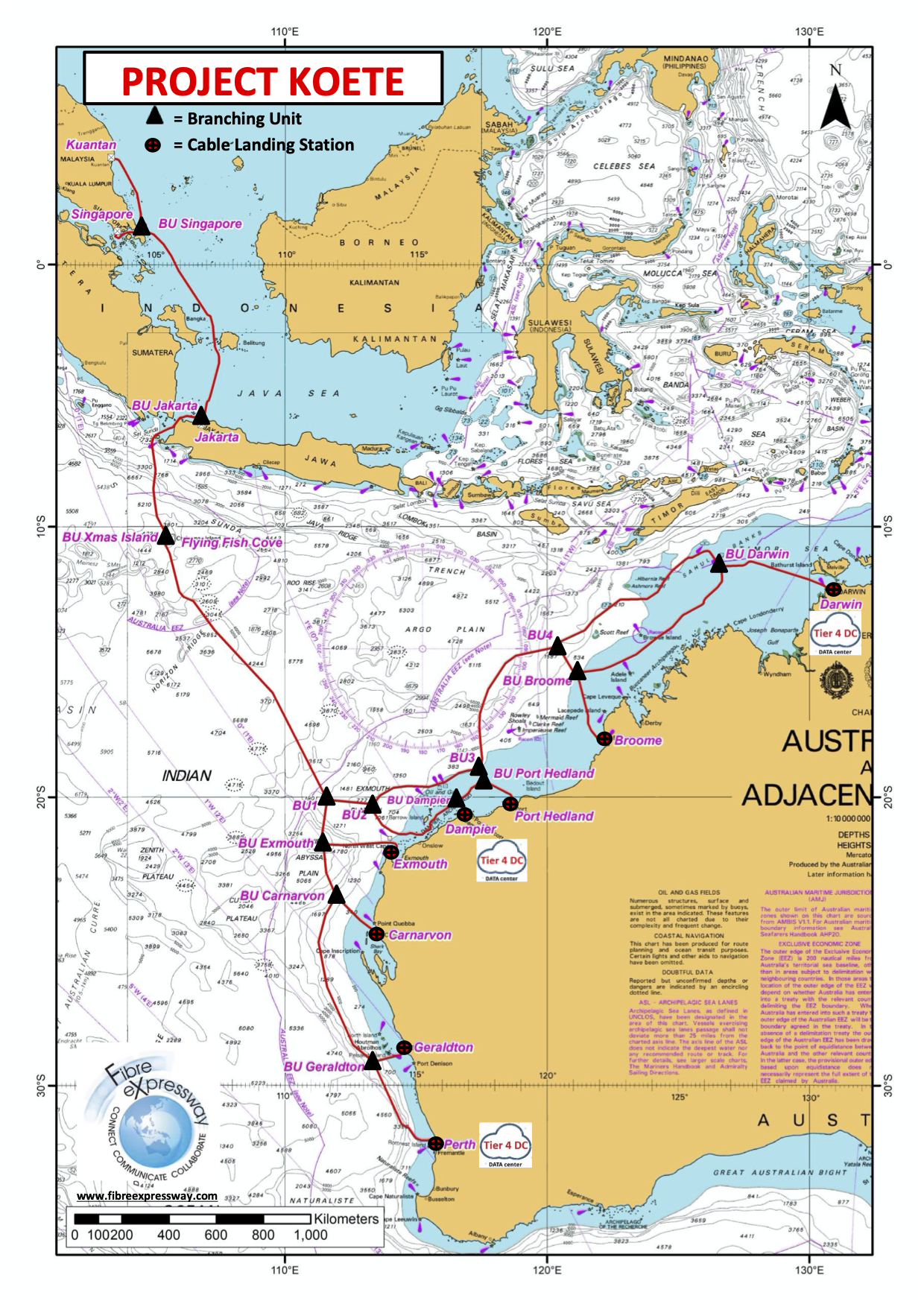 Subsea Cable Map